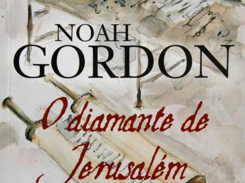 Livros: O Diamante de Jerusalém - O romance de espionagem de Noah Gordon