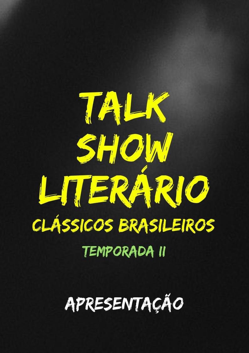 Talk Show Literário Segunda Temporada
