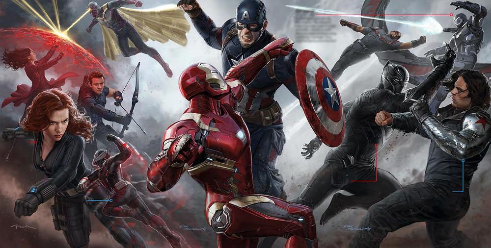 Filme Capitão América - Guerra Civil