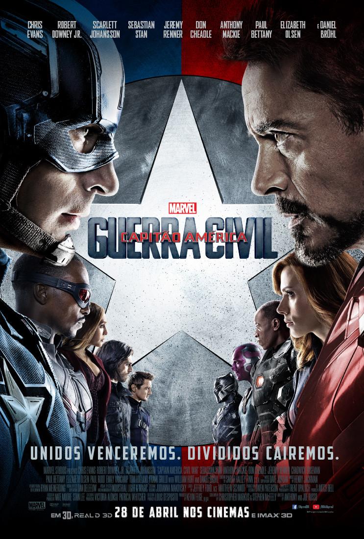 Capitão América: Guerra Civil (Captain America - Civil War: 2016)