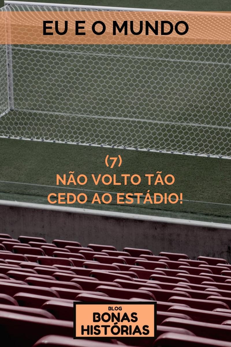 Crônica Não volto tão cedo ao estádio! de Ricardo Bonacorci