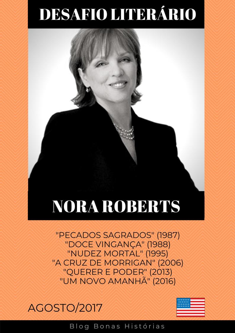 Análise Literária: Nora Roberts