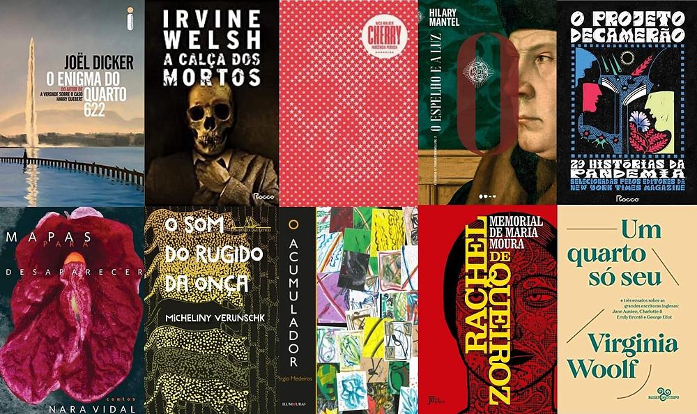 Principais livros Lançados em março e abril de 2021 no Brasil