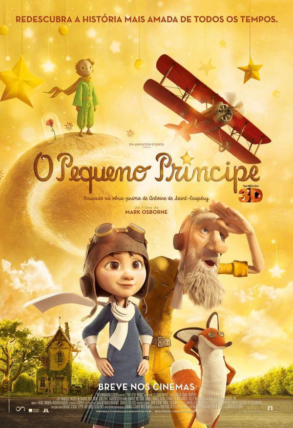 O Pequeno Príncipe (The Little Prince: 2015)