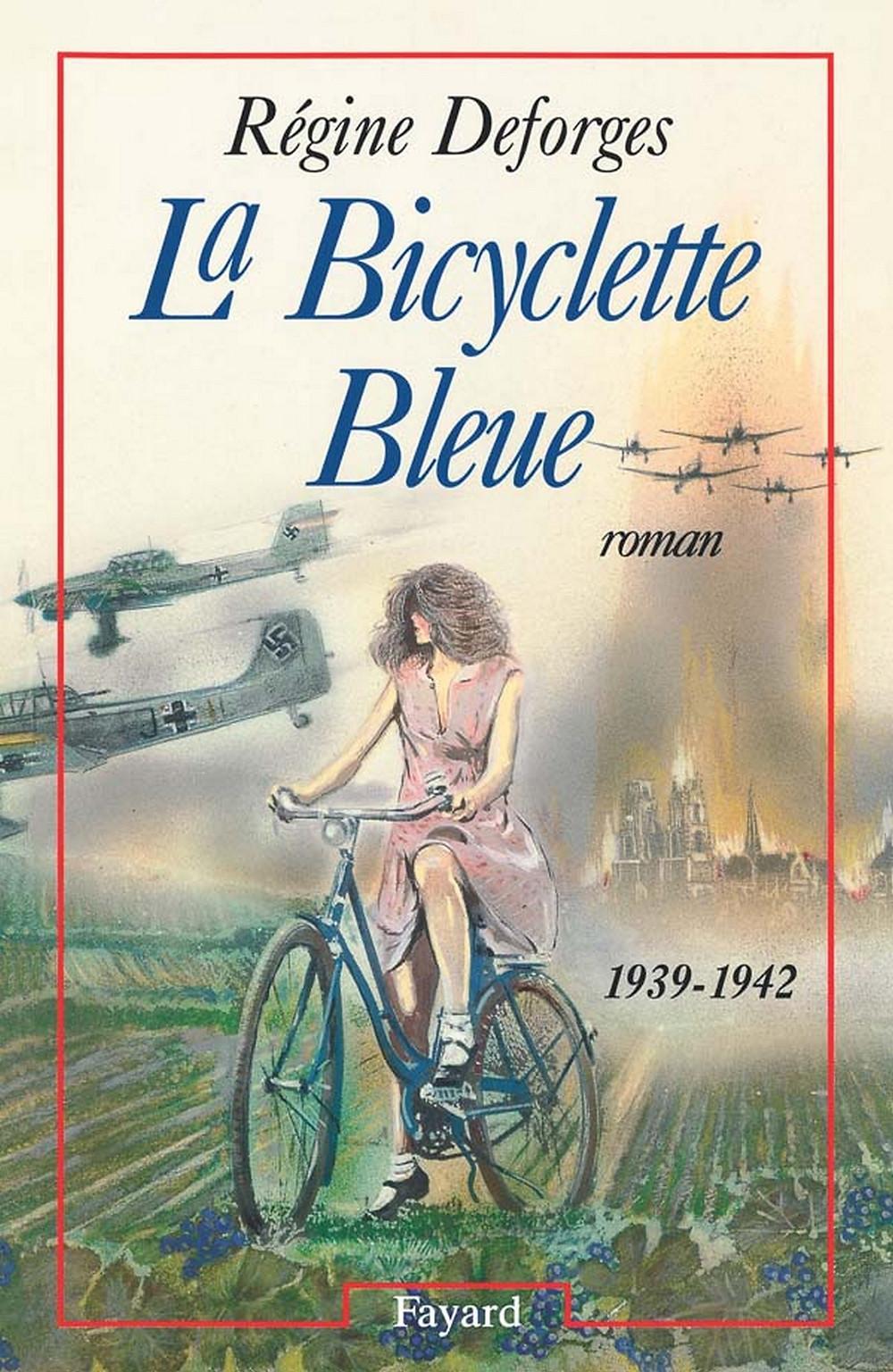 Livro a Bicicleta Azul de Régine Deforges