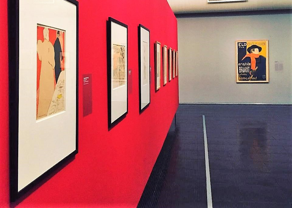Toulouse-Lautrec em Vermelho