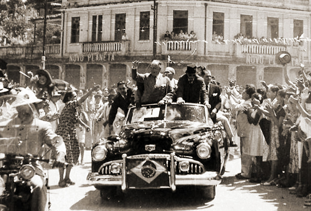 Getúlio Vargas em 1954