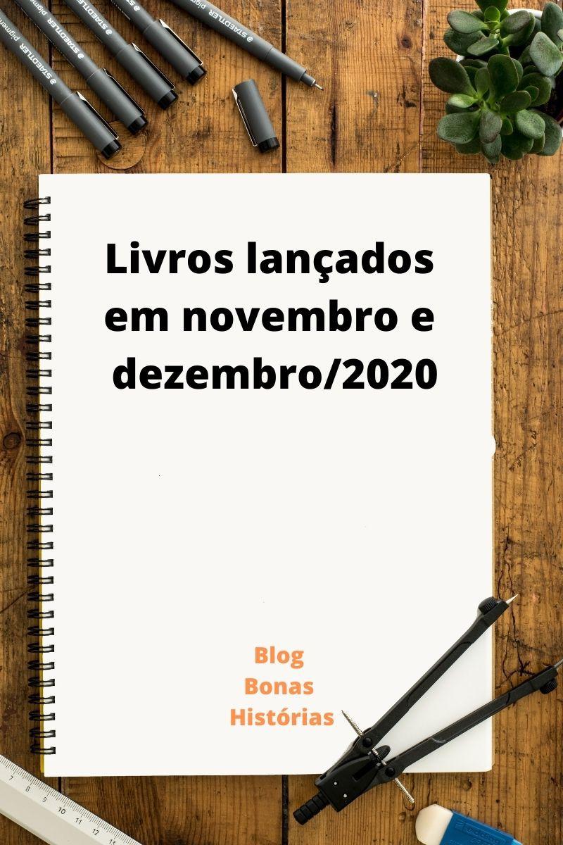 Livros lançados em novembro e dezembro de 2020 no Brasil