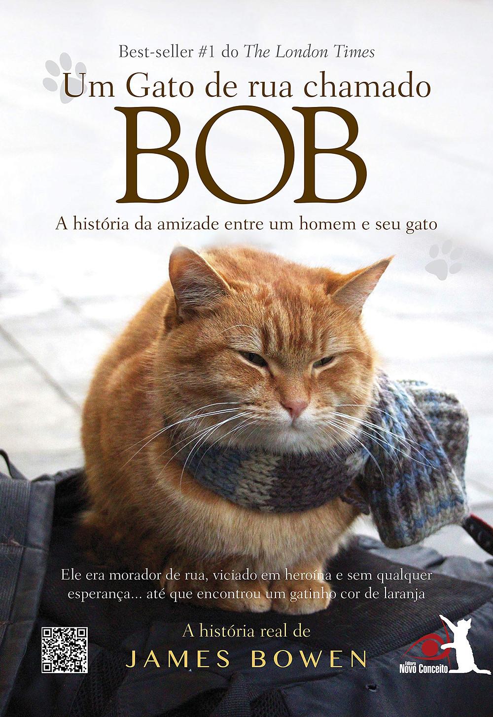 Um Gato de Rua Chamado Bob James Bowen