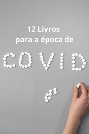 Recomendações: Doze livros para serem lidos em época de Coronavírus