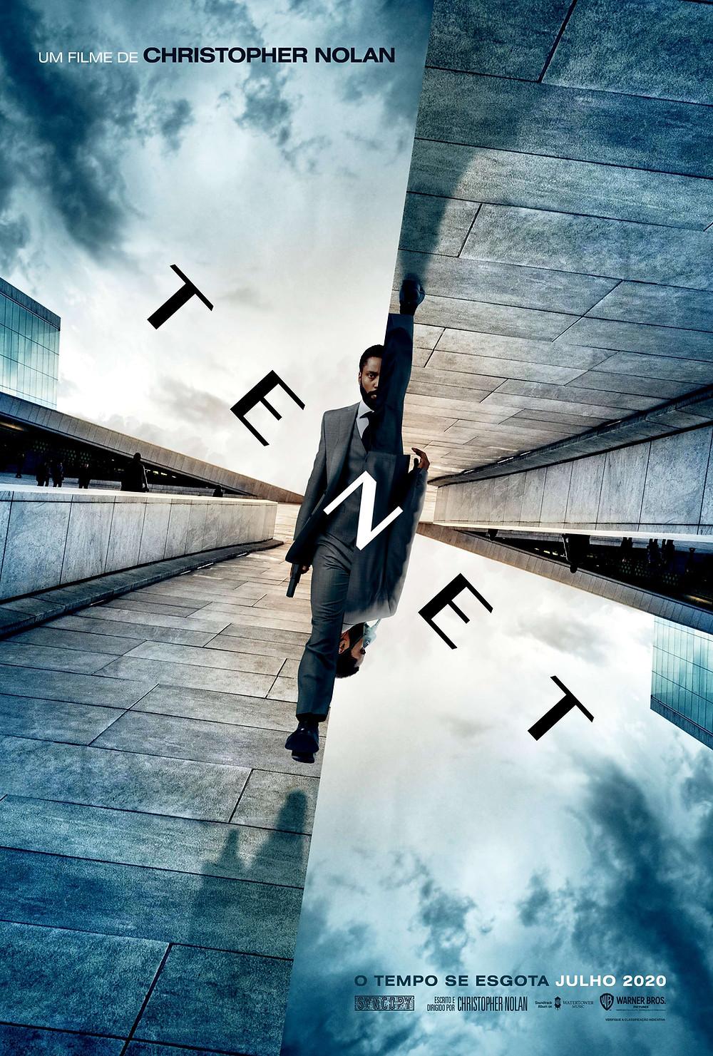 Tenet (2020) é o novo filme de Christopher Nolan