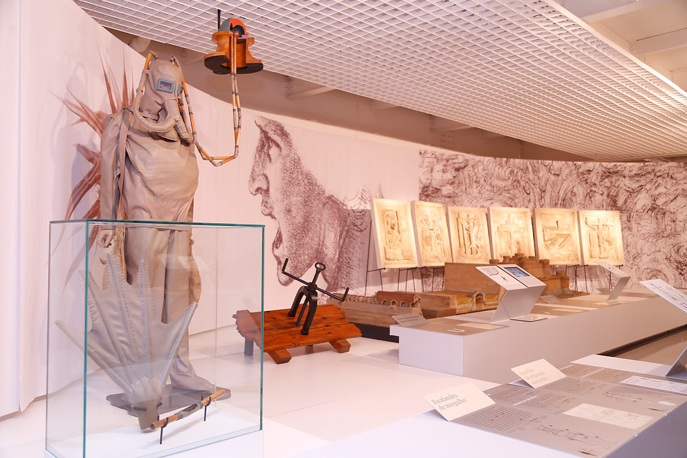 Exposição Leonardo Da Vinci: A Natureza da Inovação