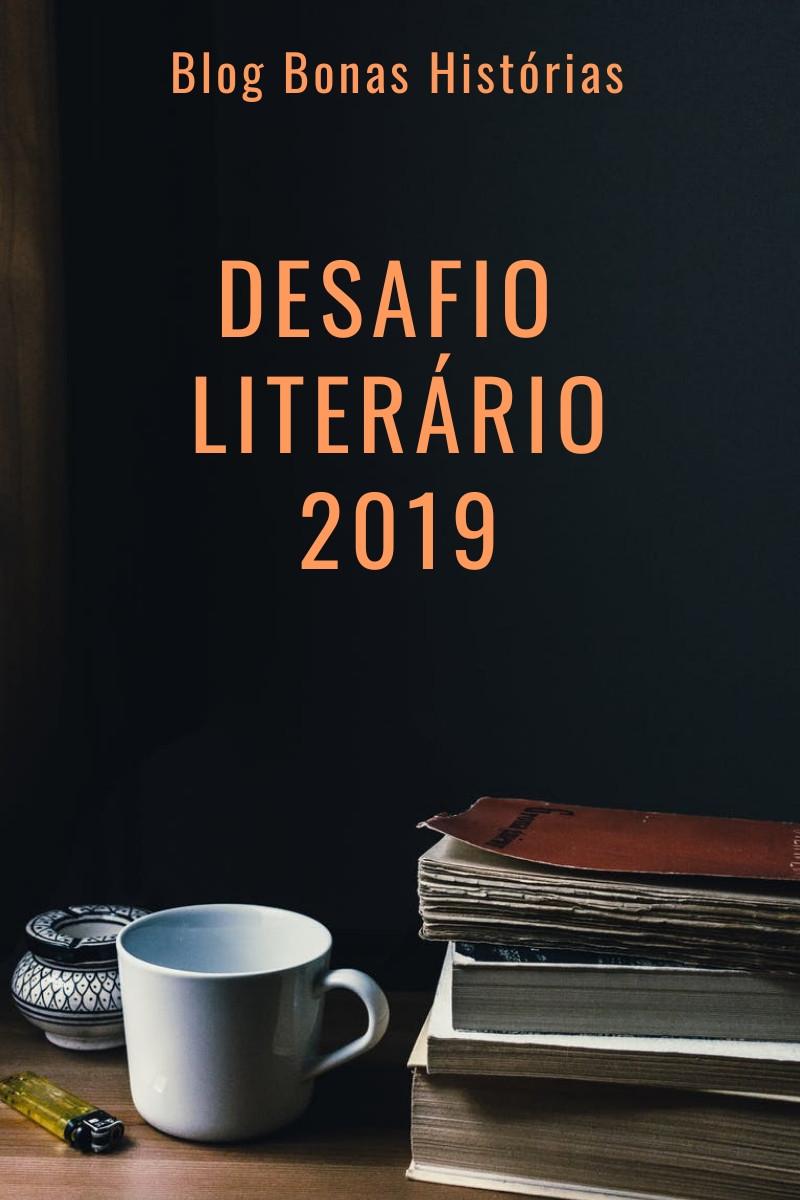 Calendário do Desafio Literário de 2019