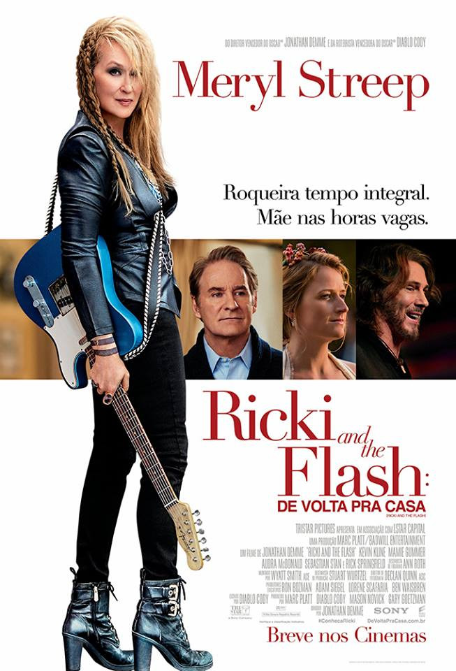 Ricki and The Flash - De Volta Pra Casa (Ricki and The Flash: 2015)