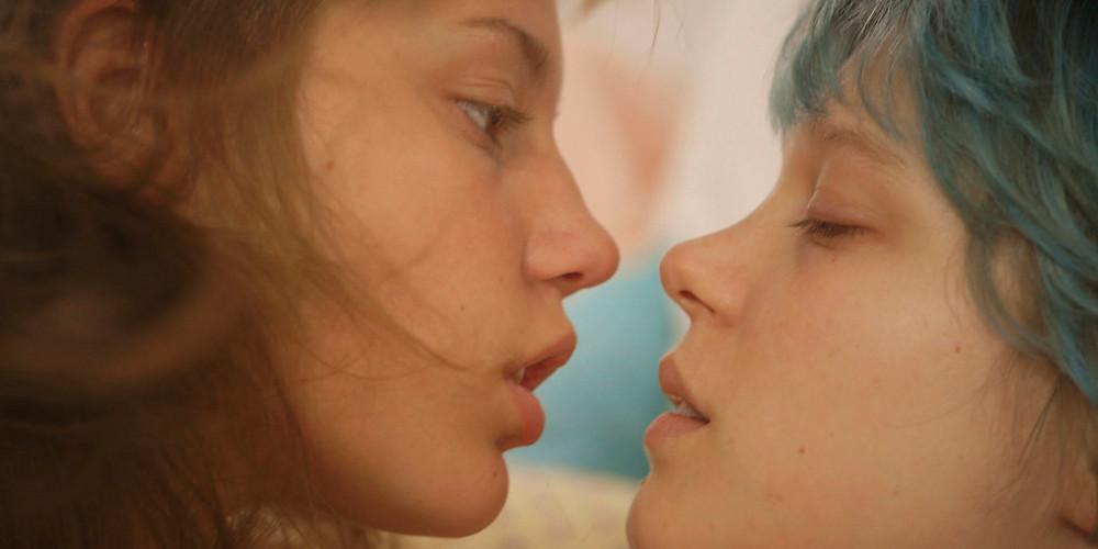 """Cena do filme """"O Azul é a Cor Mais Quente"""" (La Vie d'Adèle: 2013)"""