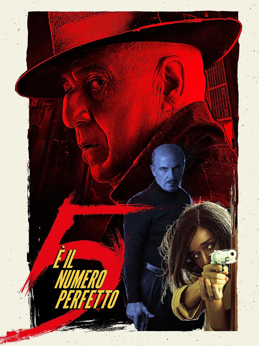Filme Cinco é o Número Perfeito (5 è il Numero Perfetto: 2019) de Igort