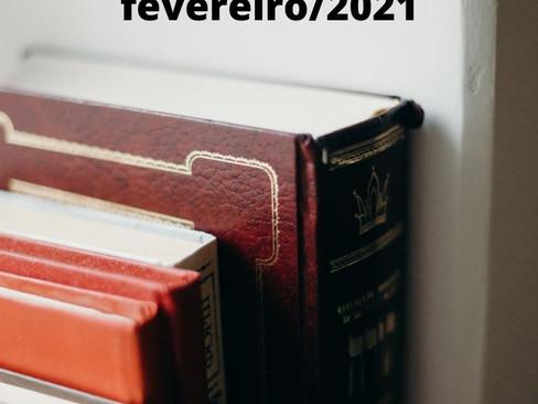 Mercado Editorial: Livros - Lançamentos em janeiro e fevereiro de 2021