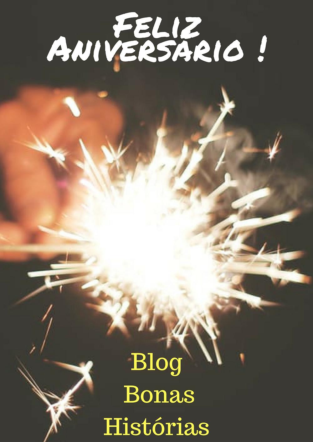 Aniversário do Blog Bonas Histórias