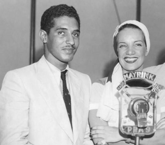 Dorival Caymmi e Carmen Miranda em 1939