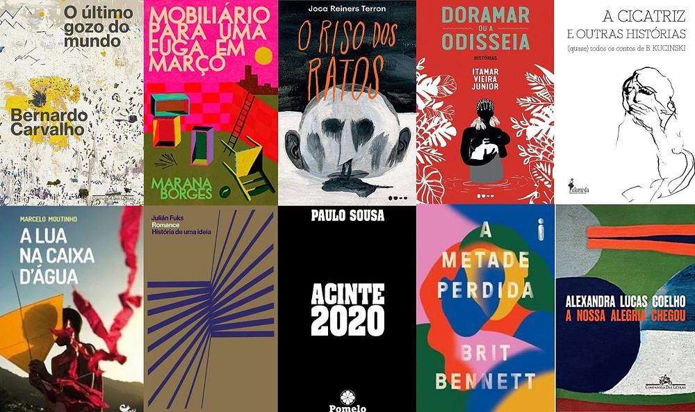 Principais livros de ficção e de poesia lançados no Brasil em maio e junho de 2021
