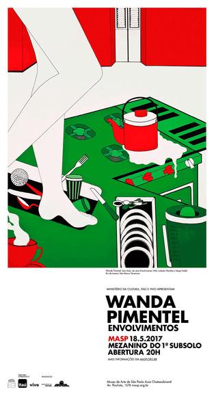 Exposições: Wanda Pimentel Envolvimentos - O início da carreira da pintora carioca