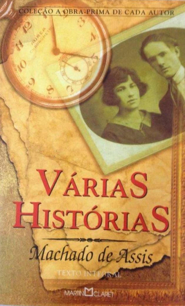 Várias Histórias - Livro de contos de Machado de Assis