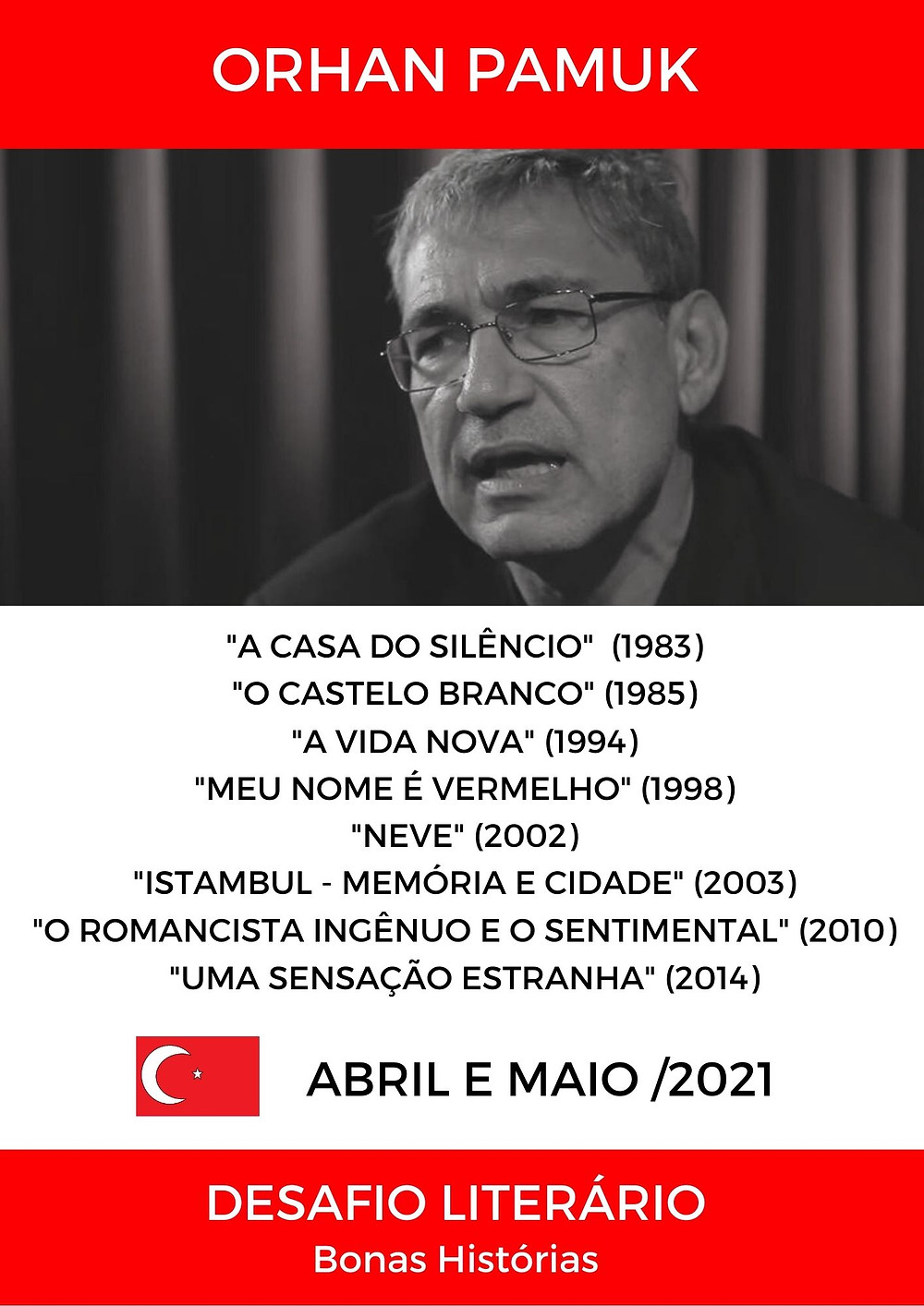 Análise Literária de Orhan Pamuk
