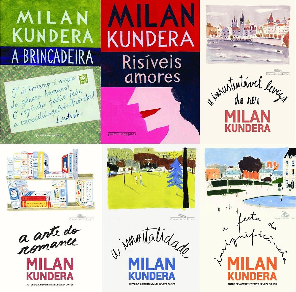 Livros de Milan Kundera