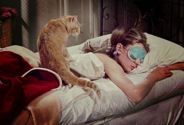 Audrey Hepburn no filme Bonequinha de Luxo