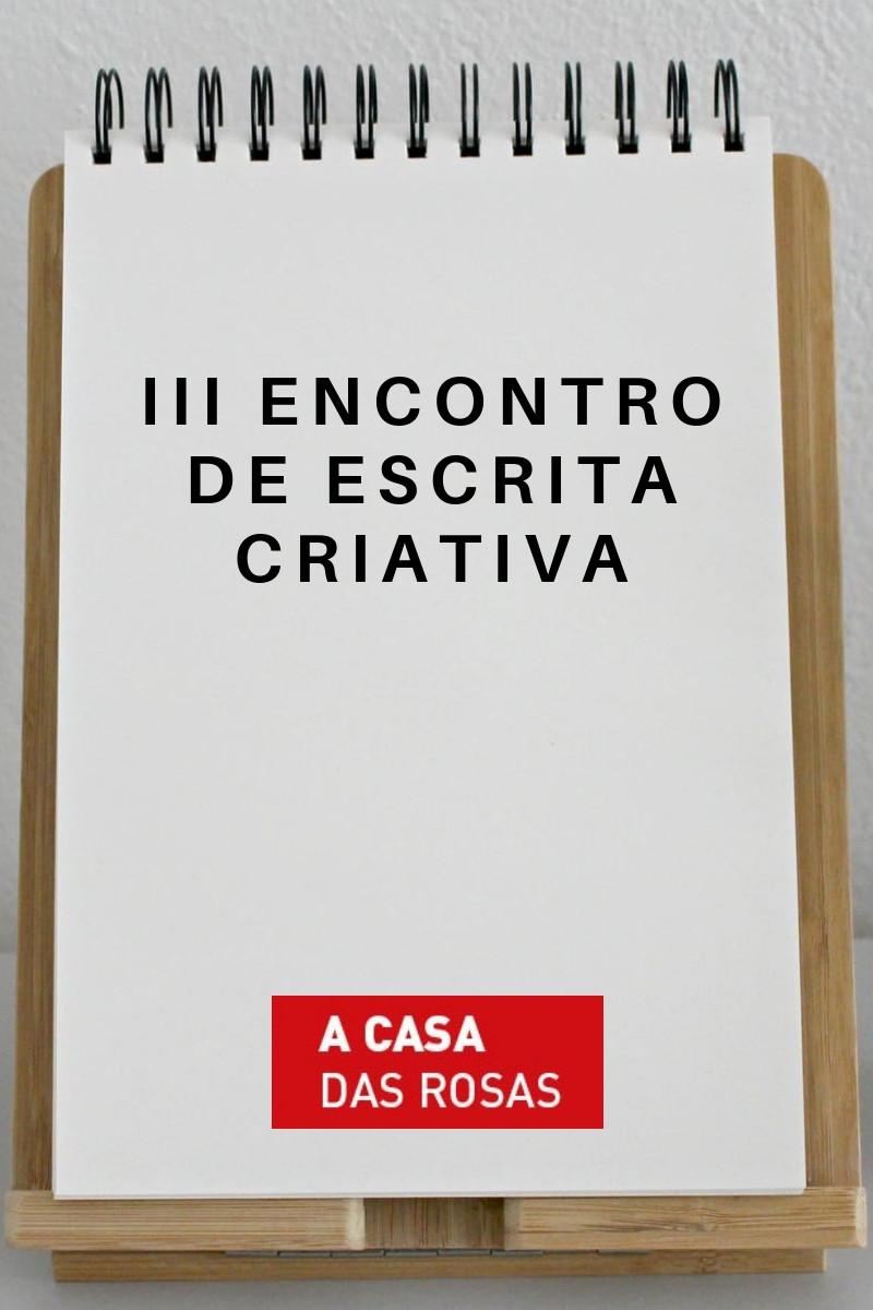 III Encontro de Escrita Criativa
