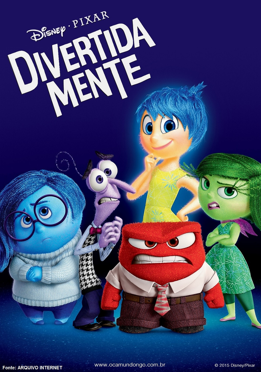 Divertida Mente (Inside Out: 2015)