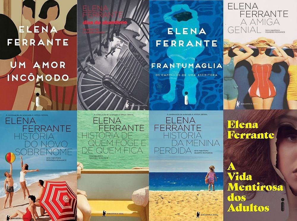 Livros de Elena Ferrante