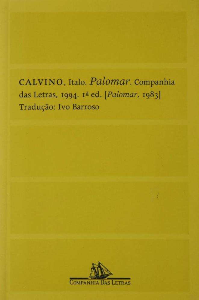 Palomar de Italo Calvino