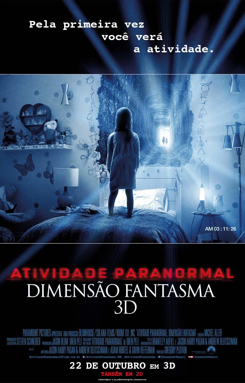Atividade Paranormal: Dimensão Fantasma (Paranormal Activity - The Ghost Dimension: 2015)