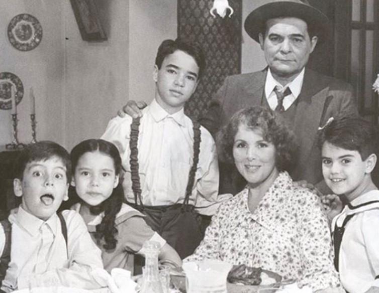 Cena da telenovela Éramos Seis