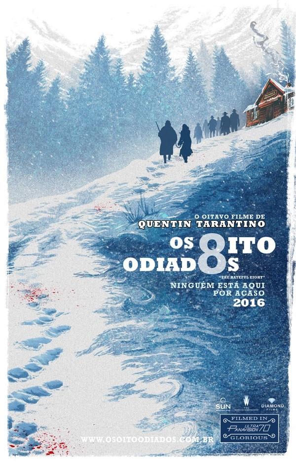 """""""Os Oito Odiados"""" (The Hateful Eight: 2015) - Quentin Tarantino"""