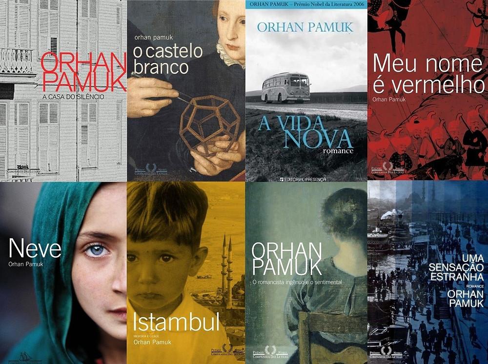 Principais livros de Orhan Pamuk