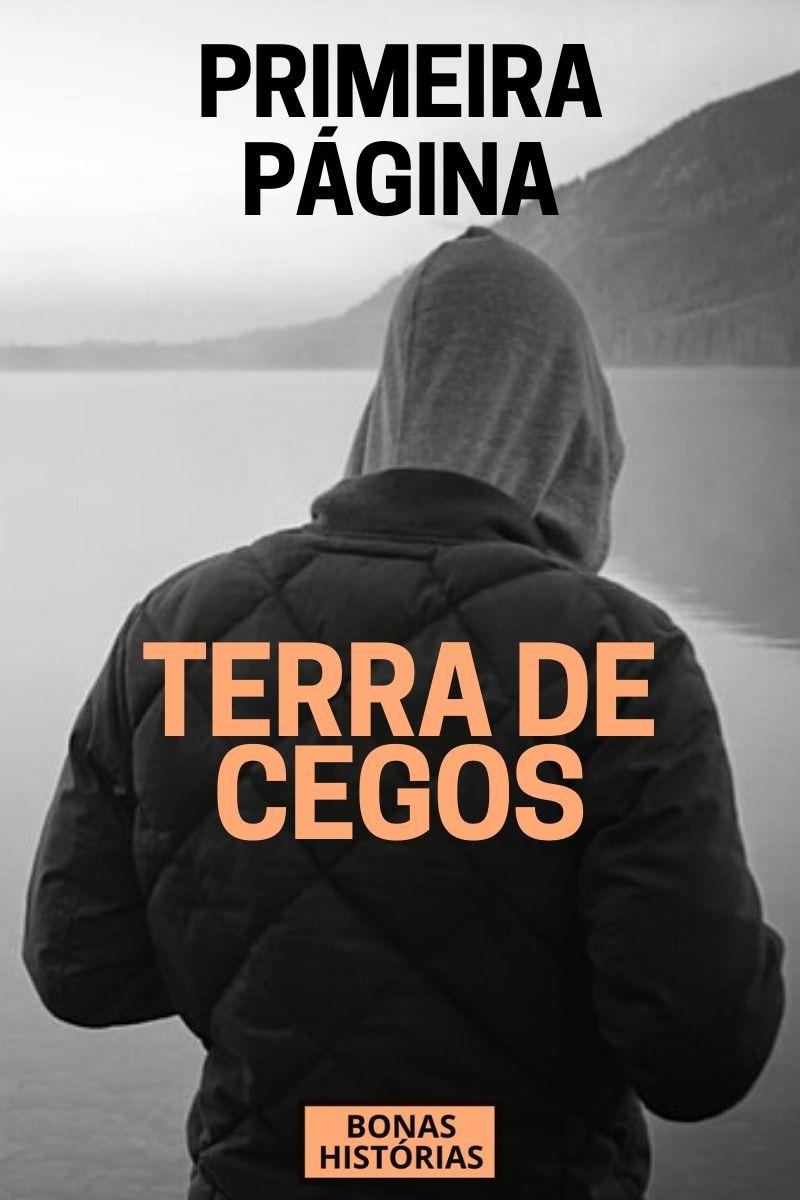 Primeira Página - Terra de Cegos - Ricardo Bonacorci