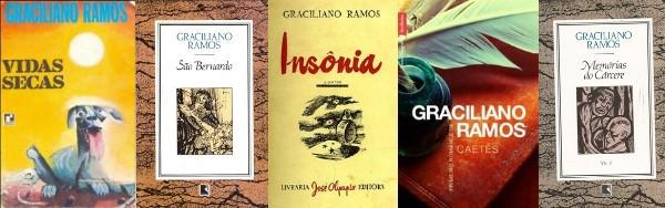 Livros de Graciliano Ramos