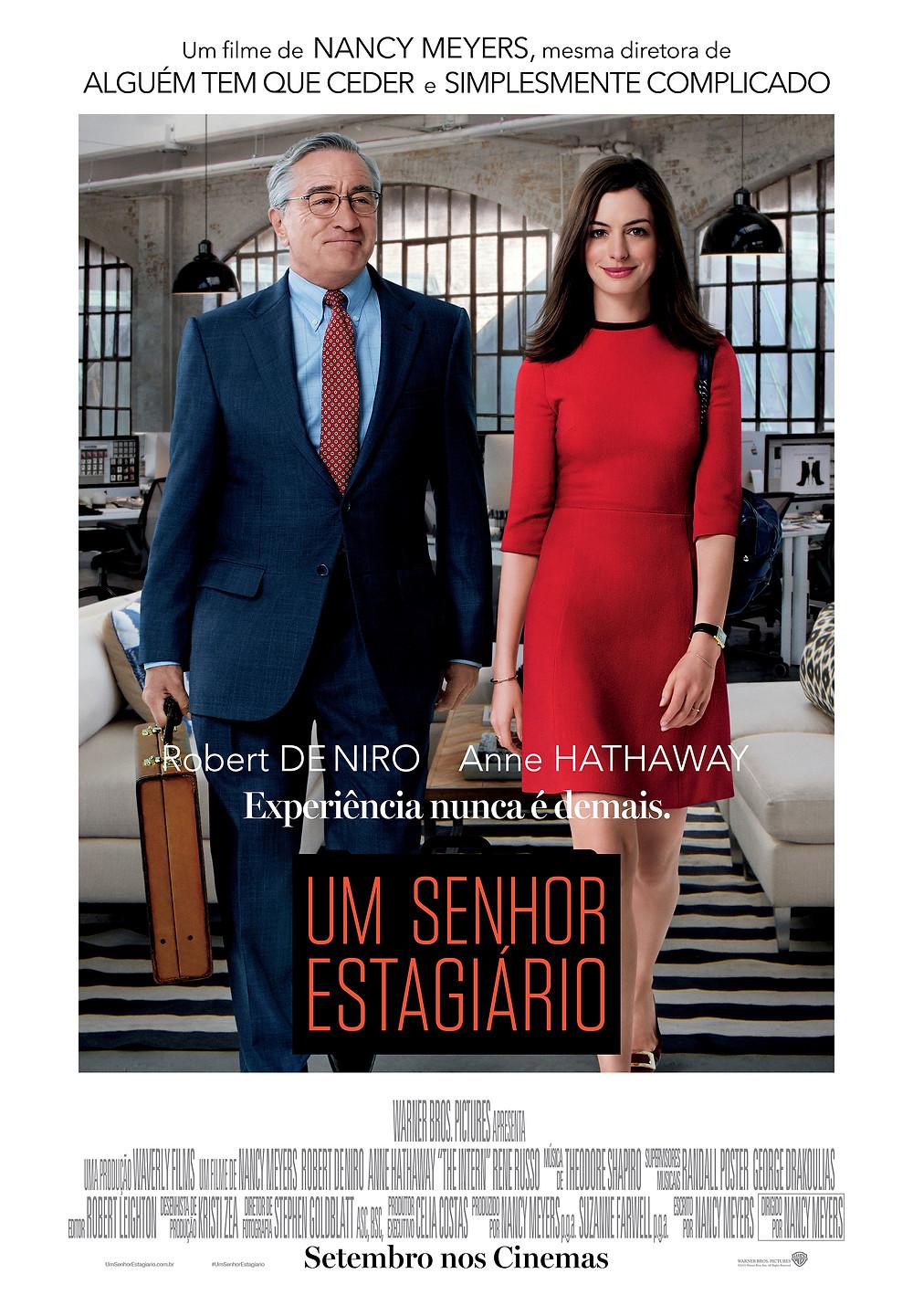 Um Senhor Estagiário (The Intern: 2015)