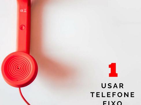 Crônicas: Doze Indícios que Envelheci Antes da Hora - Item 1 - Usar telefone fixo