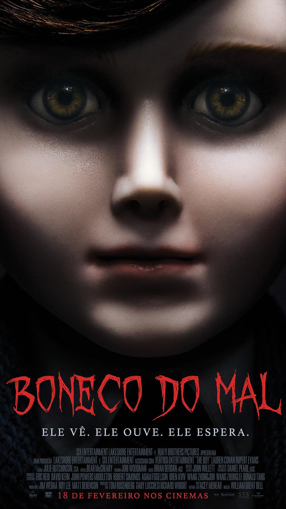 Boneco do Mal (The Boy: 2016)
