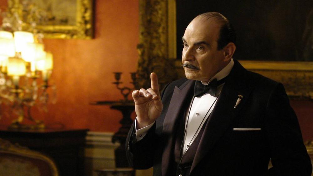 Hercule Poirot, personagem criada por Agatha Christie