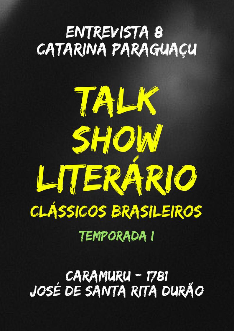 Talk Show Literário Catarina Paraguaçu