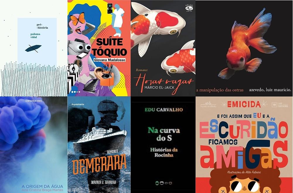 Livros lançados em setembro e outubro de 2020 na literatura brasileira