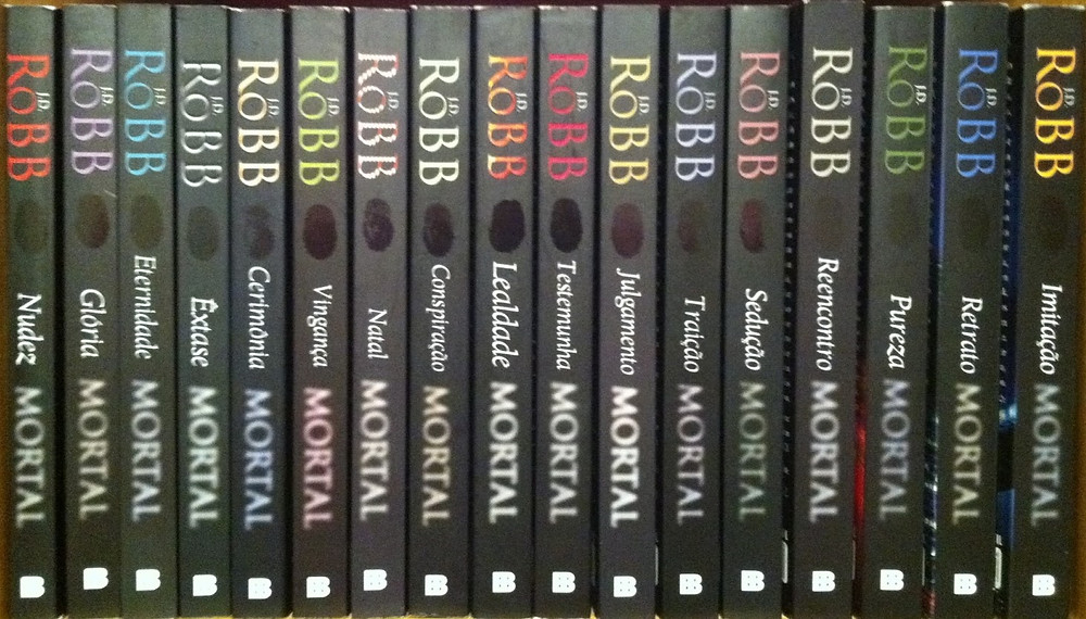 Série Mortal - Nora Roberts e J. D. Robb