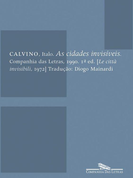 Cidades Invisíveis de Italo Calvino