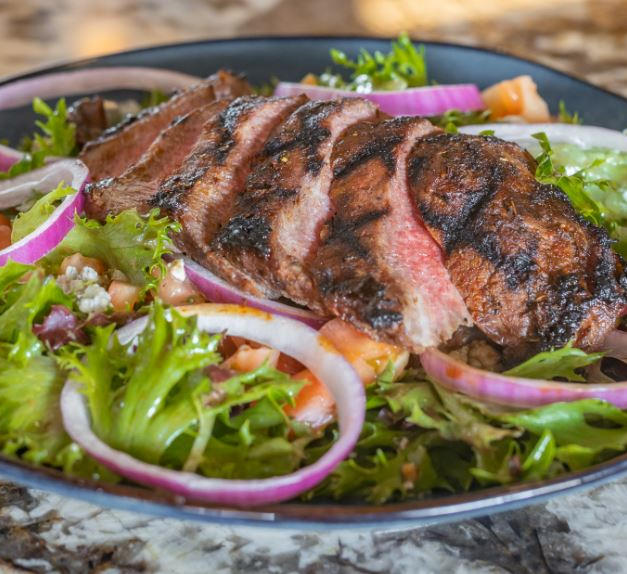 Flat Iron Steak Salad