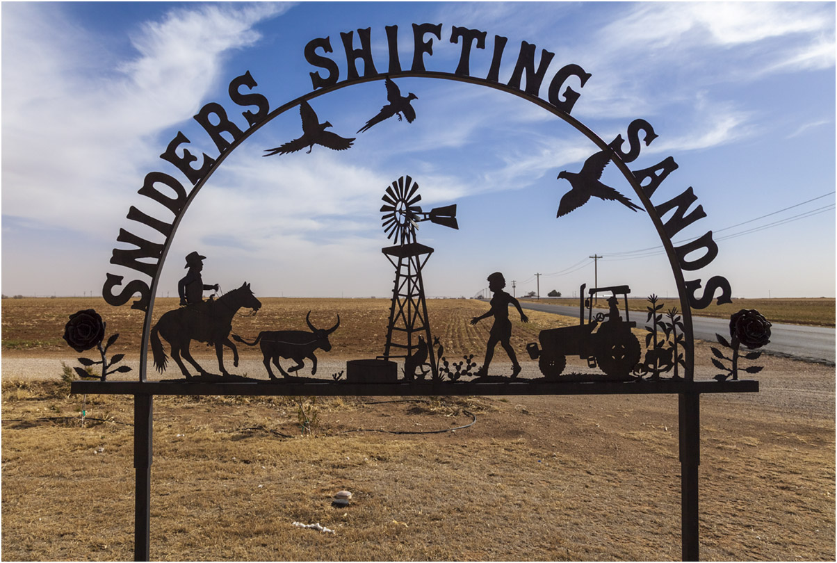 Shifting Sands, Lubbock, 2013