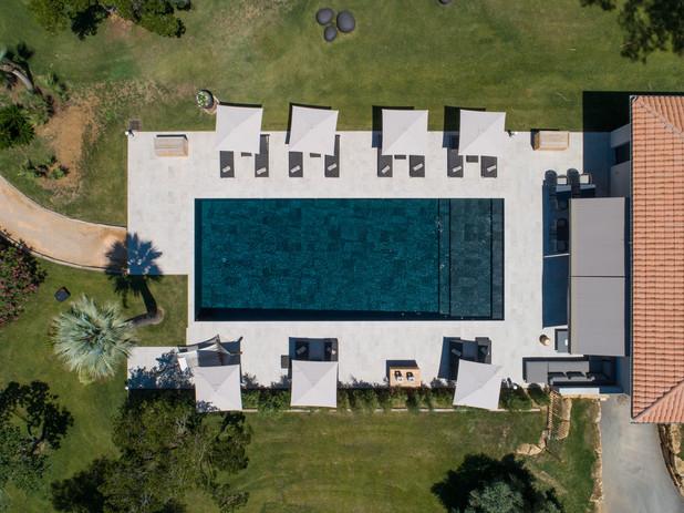 Villa Louise vertical pool view drone.jp